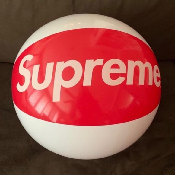 Authentic Supreme beach ball
